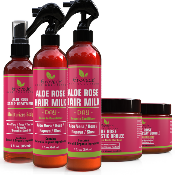 ALOE ROSE HydraMoist ENTIRE Styling BUNDLE