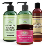 Groveda Hair Growth Bundle with a FREE Matcha Green Tea Avocado Deep Conditioning Hair Mask