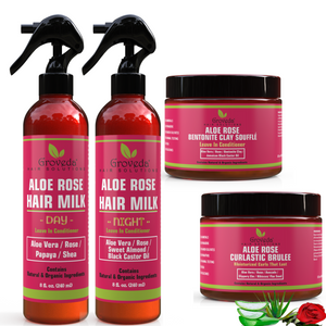 The Aloe Rose HydraMoist Styling Bundle