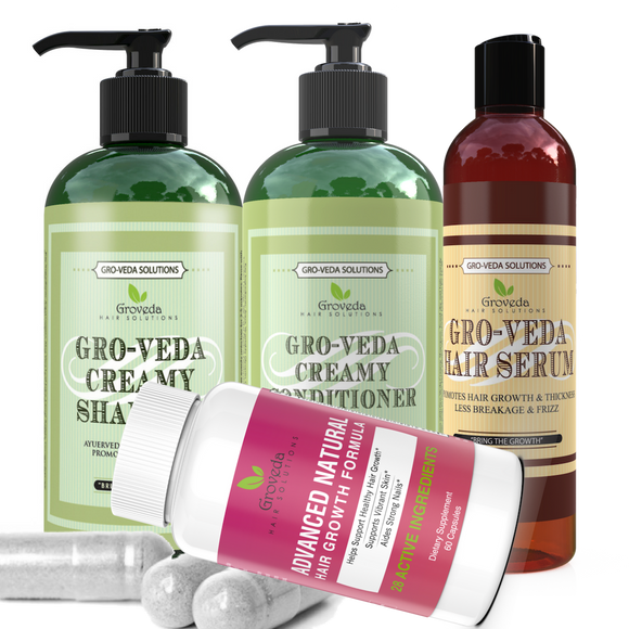 Groveda Vitamin Hair Growth Bundle