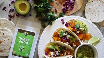 Butternut Squash Tacos with Super Smashed Avocado