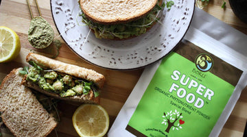 Smashed Superfood Salad Sandwich