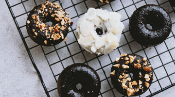 Chocolate Frosted Protein Donuts