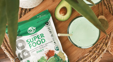 Vegan Superfood Shamrock Shake