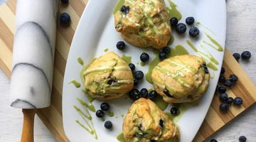 Super Matcha Scones