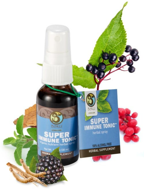Boku Super Immune Tonic Spray