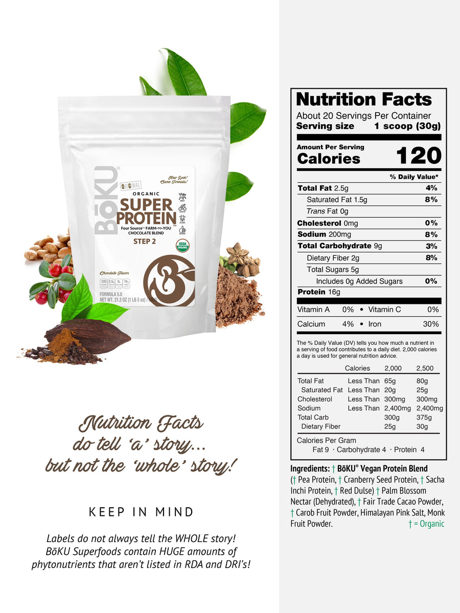 Super Protein - Chocolate (Subscription) Powders BoKU® Superfood