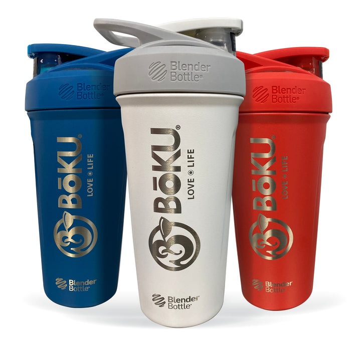 Stainless Steel Boku Shaker Bottle Hardgoods BoKU® Superfood