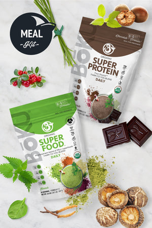 Complete Meal Kit- Chocolate Powders BoKU® Superfood | Superfood powder