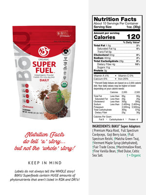 Super Fuel Powders BoKU® Superfood