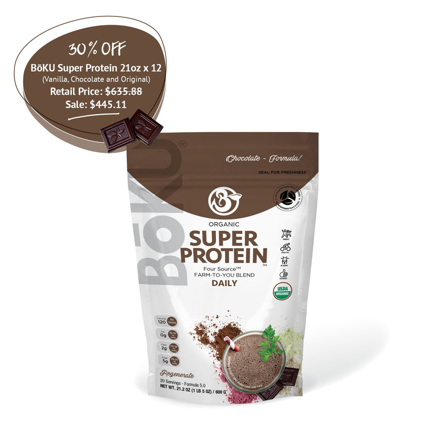 Super Protein - Chocolate (1/yr supply) Powders BoKU® Superfood