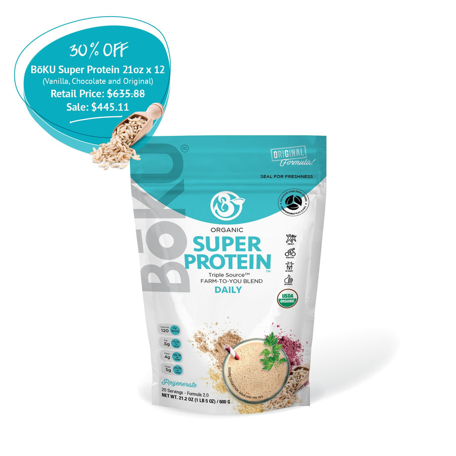 Super Protein (1/yr supply) Powders BoKU® Superfood