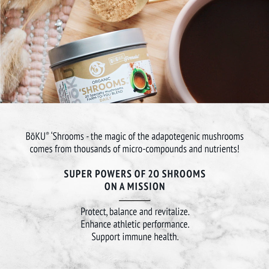Shrooms Powders BoKU® Superfood