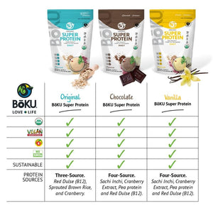 Super Protein- Vanilla Powders BoKU® Superfood