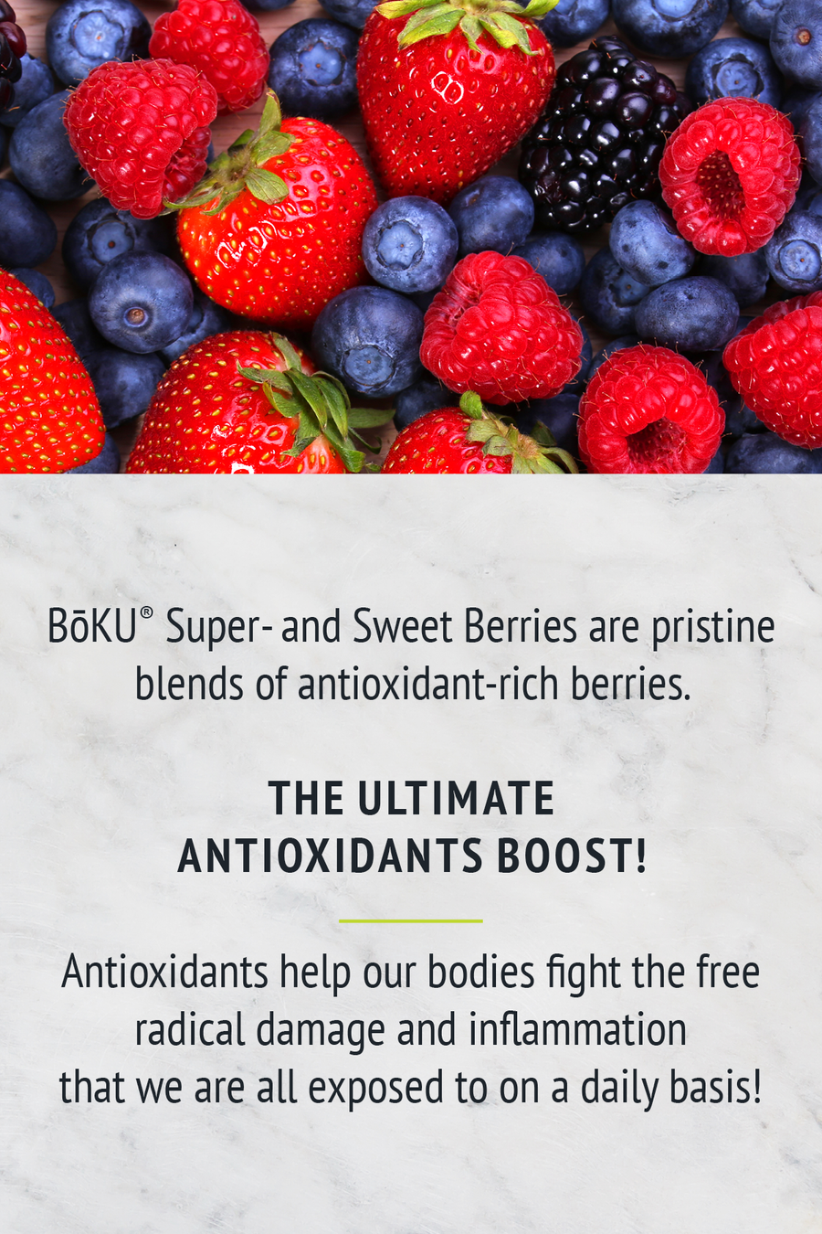 Super Berries- Sweetened Powders BoKU® Superfood | Organic Food