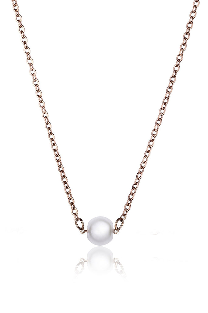 Single Pearl Necklace Necklaces Emily Westwood