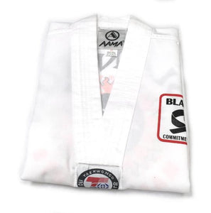 Black Belt Club Uniform White