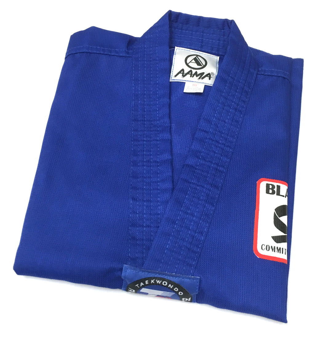 Black Belt Club Uniform Blue