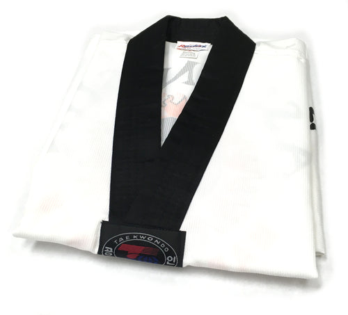 Master's Club Uniform White w/Black Collar
