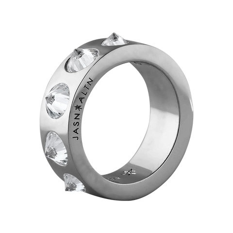 Amor Fati 5 Inverted Wide Diamond Band