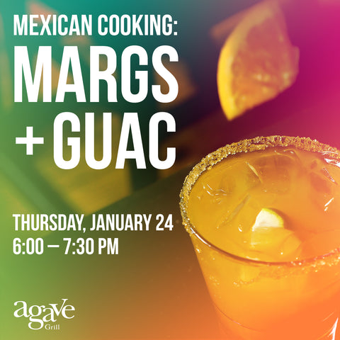 Mexican Cooking Class: Margs + Guac