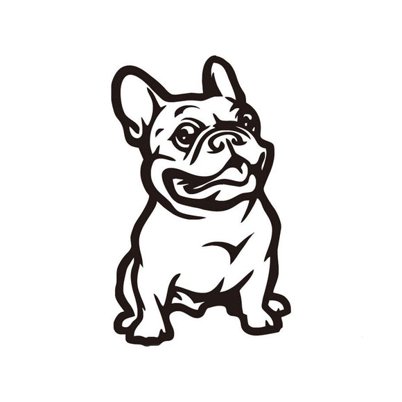 *FREE* French Bulldog Sticker