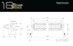 Stage Series 18 Light Bar Led