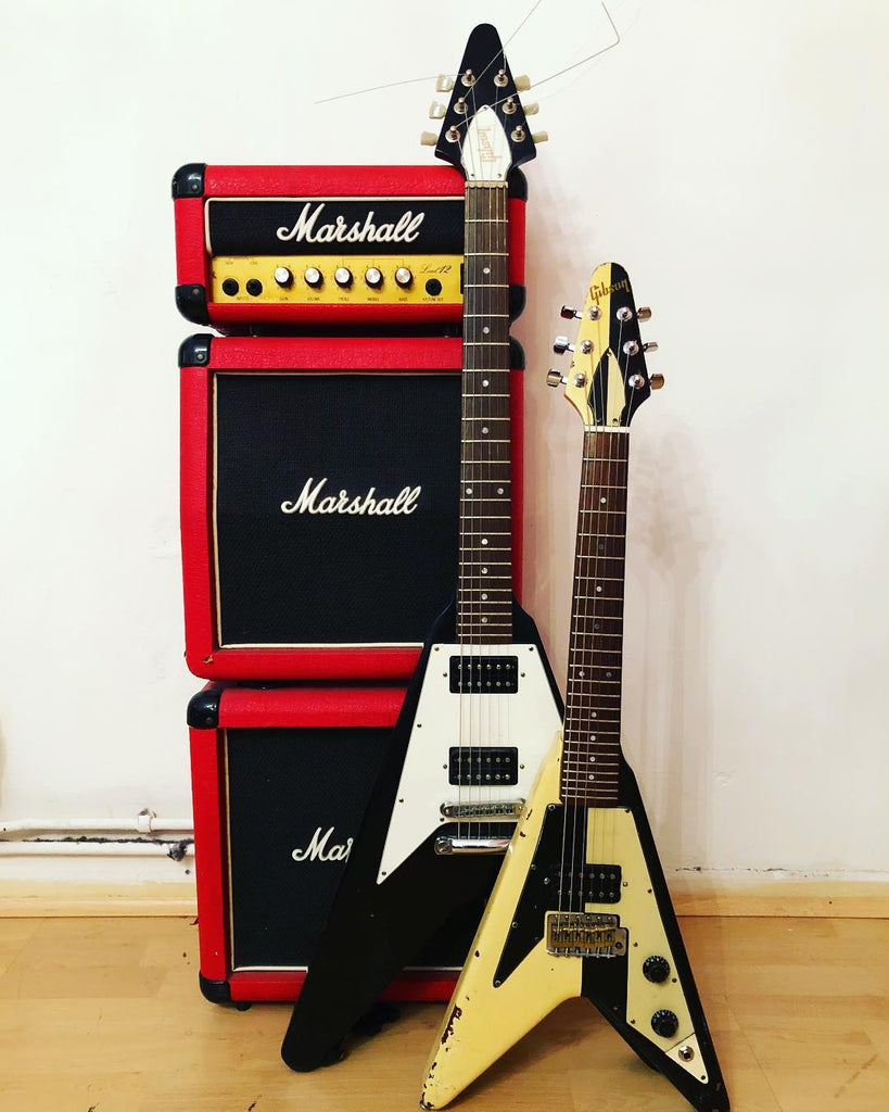Schenker guitars - little and large
