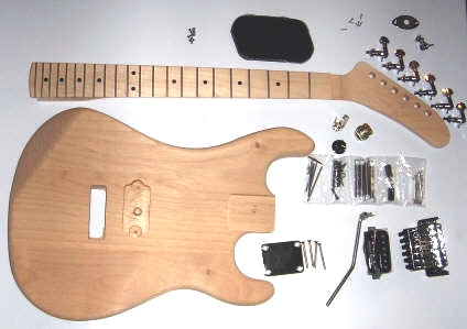 Help putting guitar kit together