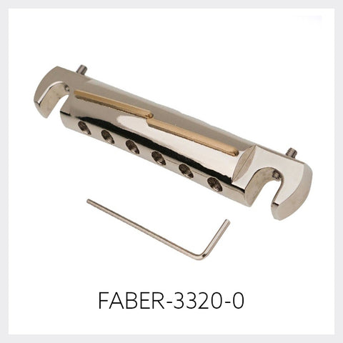 Faber® Tone-Bar, Compensated Wrap Tailpiece