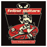 Feline Guitars – Repairs – Vince Ray design.