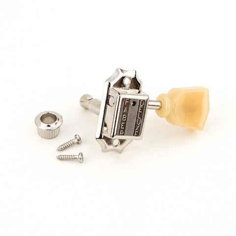 Faber Kluson Keystone Style 3+3 tuners with tulip button and push in bushing