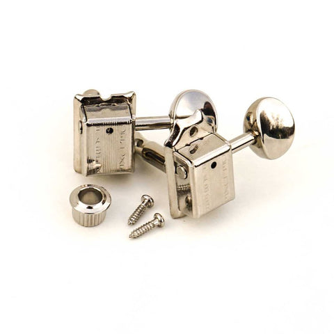 Faber FKT6L-NG Kluson 6 in line tuners with vintage push in bushing