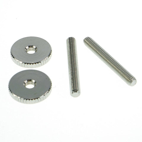 Faber® ST-M Metric. 4mm '59 ABR Steel Studs and Brass Thumbwheel Kit, (pair)