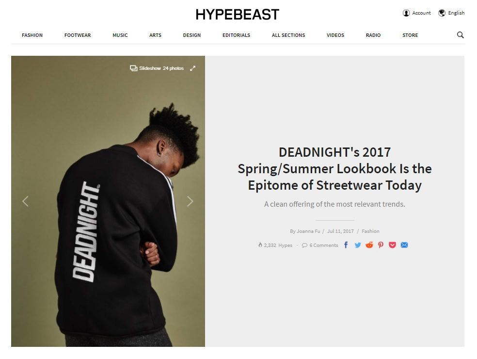 HYPEBEAST DEADNIGHT