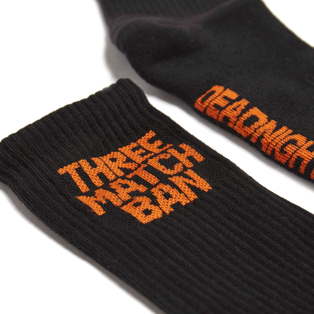 Three Match Ban - (Black/Orange) - DEADNIGHT©