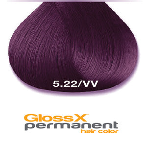 GlossX 5.22 | 5VV Intense Violet Light Brown