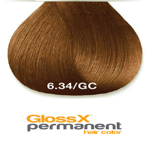 GlossX 6.34 | 6GC Dark Gold Copper Blond
