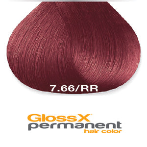 GlossX 7.66 | 7RR Intense Red Blonde