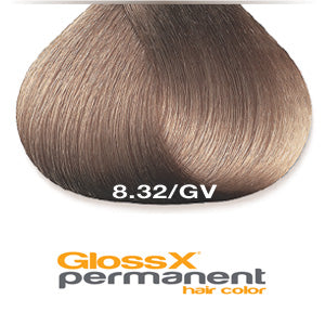 GlossX 8.32 | 8GV Gold Violet Light Blonde