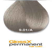 GlossX 9.01 | 9A Ash Natural Very Light Blonde