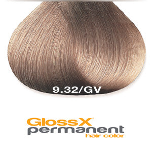 GlossX 9.32 | 9GV Gold Violet Very Light Blonde