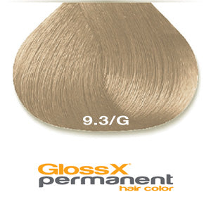 GlossX 9.3 | 9G Gold Very Light Blonde