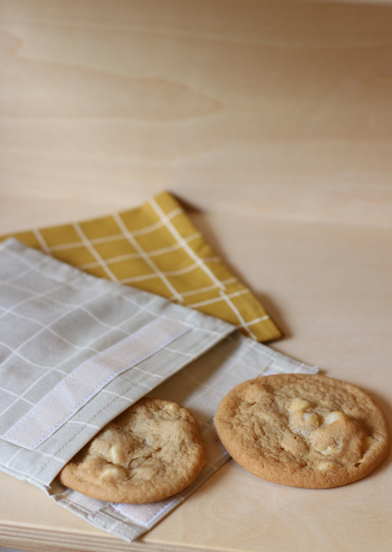 Sandwich bag with cookies