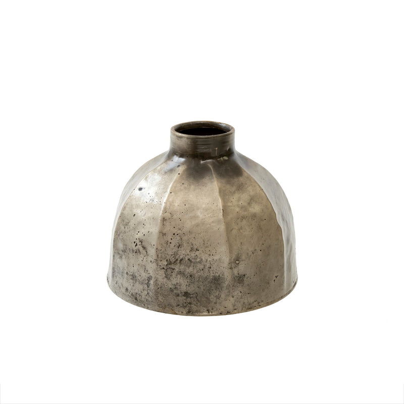 Iron Metal Vase - Medium