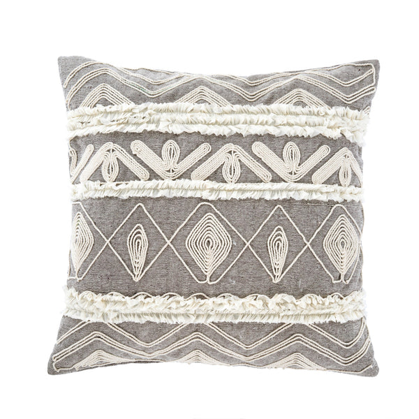 Andella Embroidered Cushion