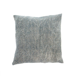 Nadi Linen Cushion, Denim