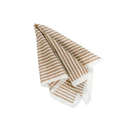 Teton Striped Napkin, Sand