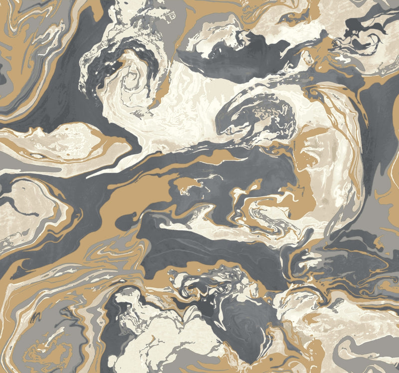Medici Marble - Dwell Wallpaper
