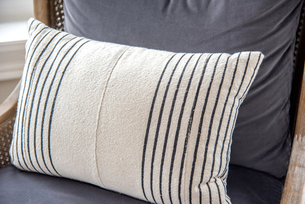 Stripe Cotton Pillow
